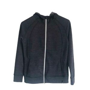 Puma Charcoal Grey Zip-up Hoodie Size Large